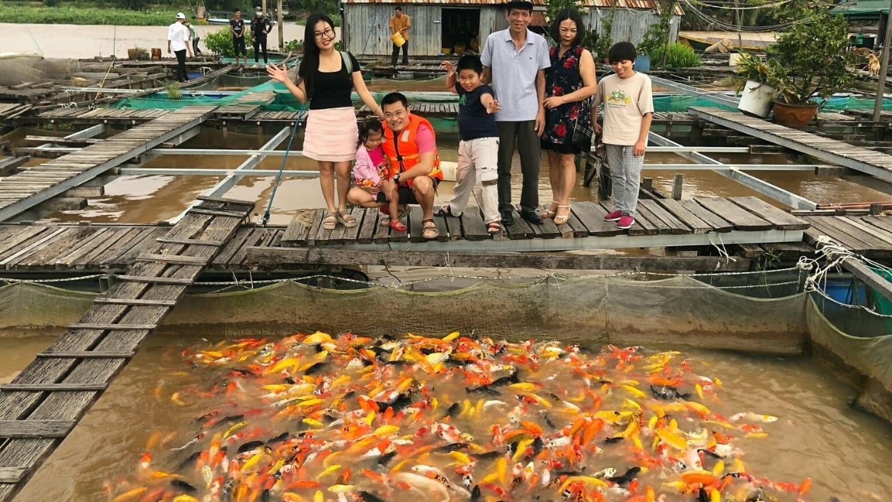Bè cá bảy Bon Cồn Sơn