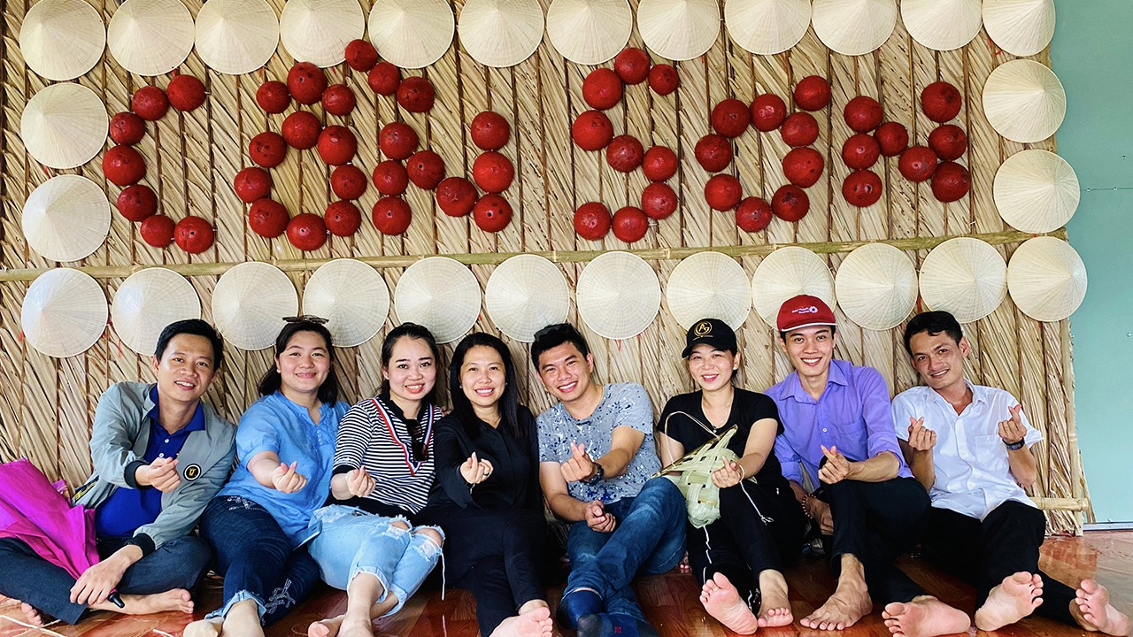 Check-in Cồn Sơn Cần Thơ