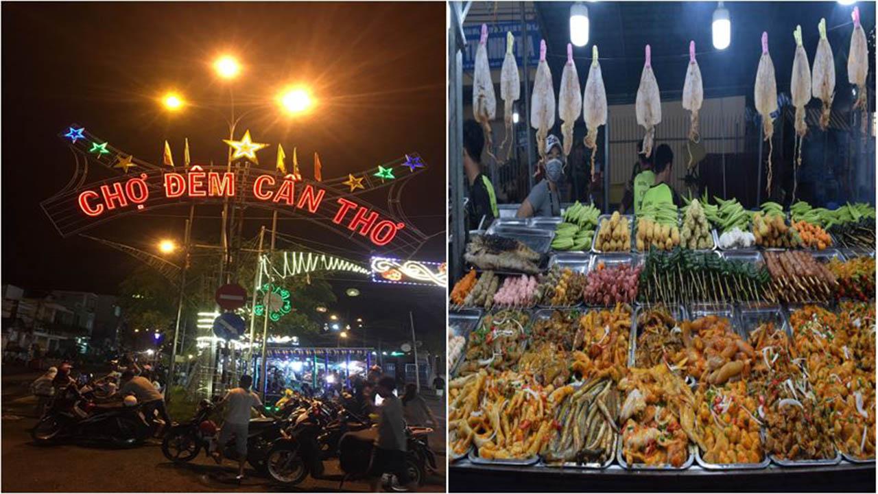 Chợ đêm Cần Thơ (hay còn gọi là chợ đêm Trần Phú)