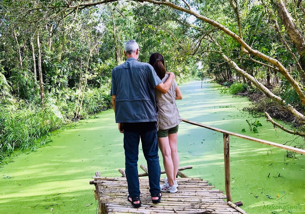 Chụp ảnh cực đẹp tại Lung Ngọc Hoàng mùa nước nổi