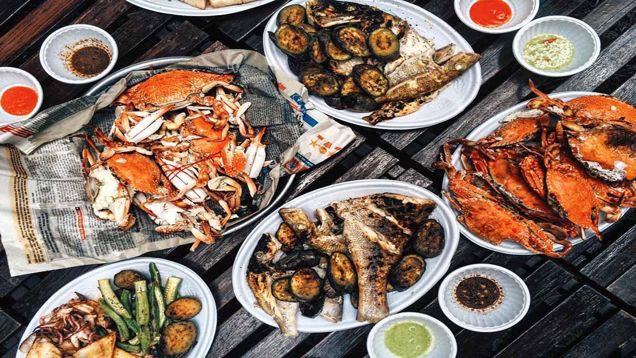 Hải sản tươi Côn Đảo