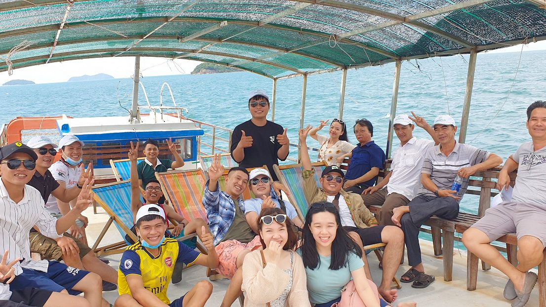Khám phá hòn đảo Nam Du bằng du thuyền - tour du lịch Cần Thơ Nam Du 2 ngày 1 đêm