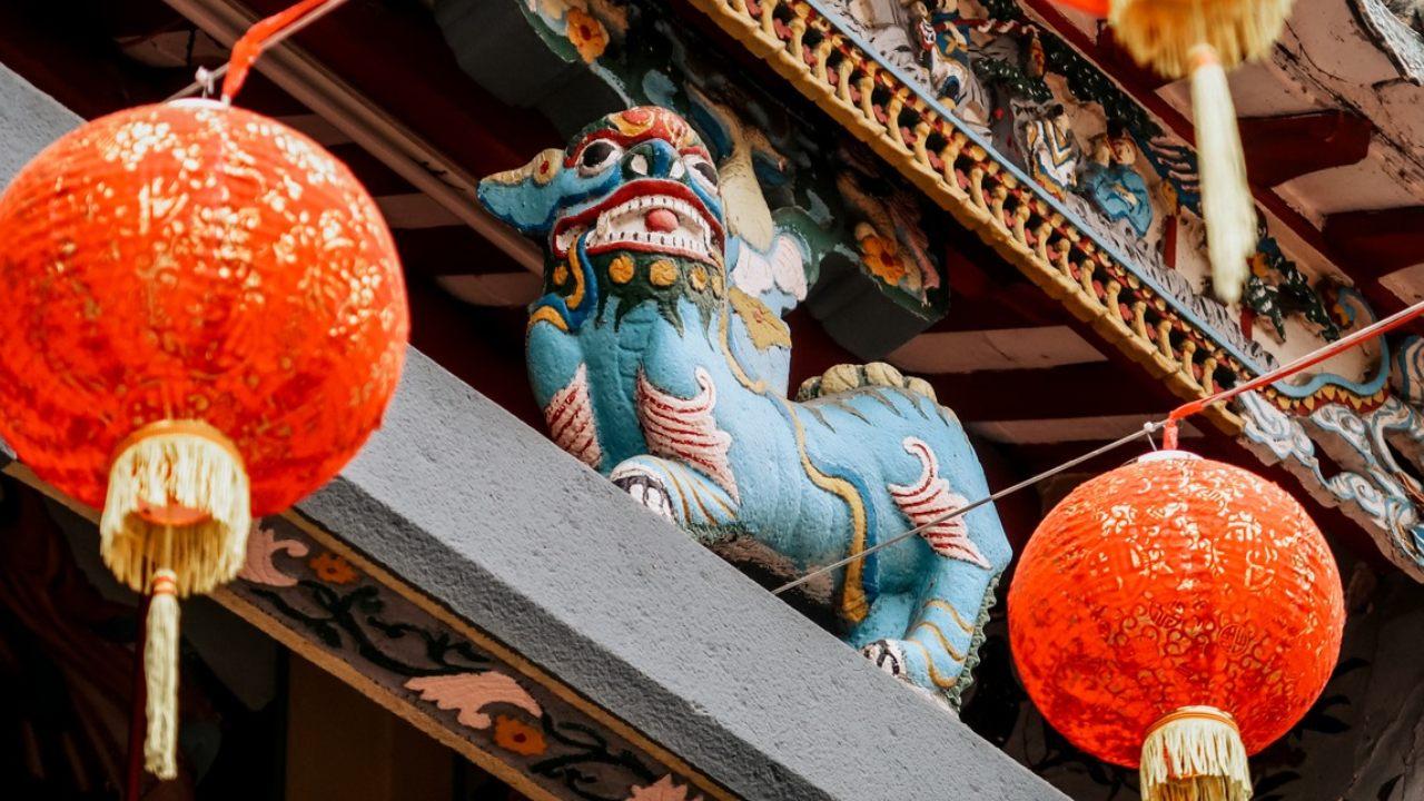 Kiến trúc tại chùa Ông Cần Thơ