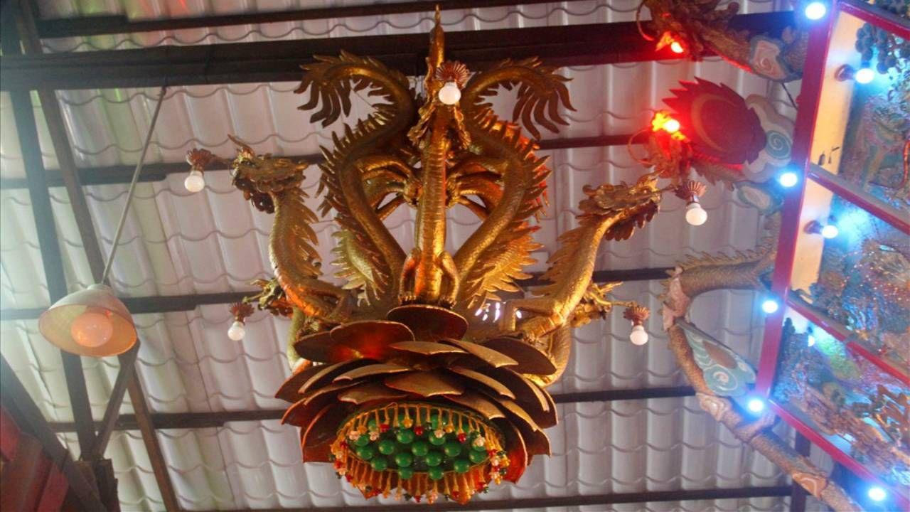 Lục Long Đăng ở chùa Đất Sét