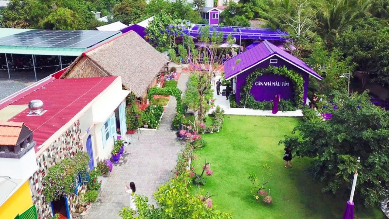 Căn nhà màu tím Cần Thơ