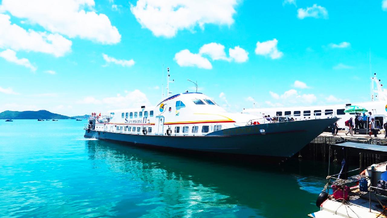 Tàu cao tốc tuyến Rạch Giá - Hòn Sơn