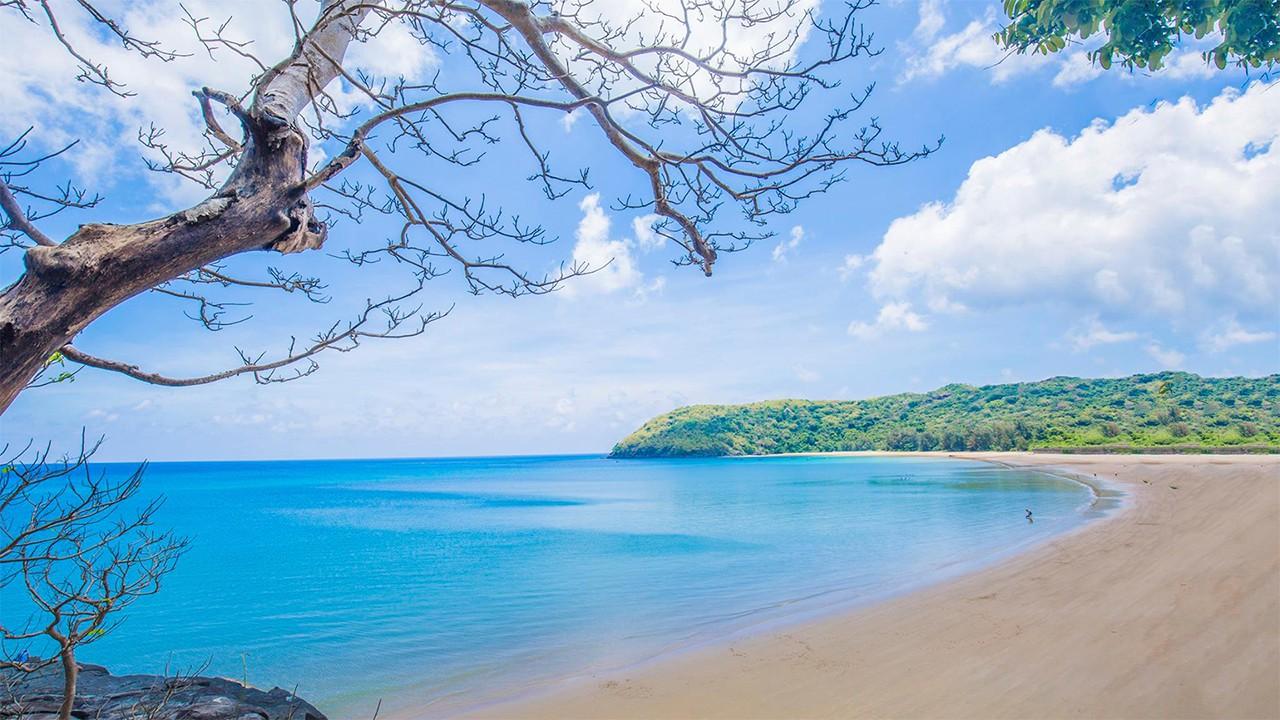 Bãi Đầm Trầu cực đẹp tại Côn Đảo