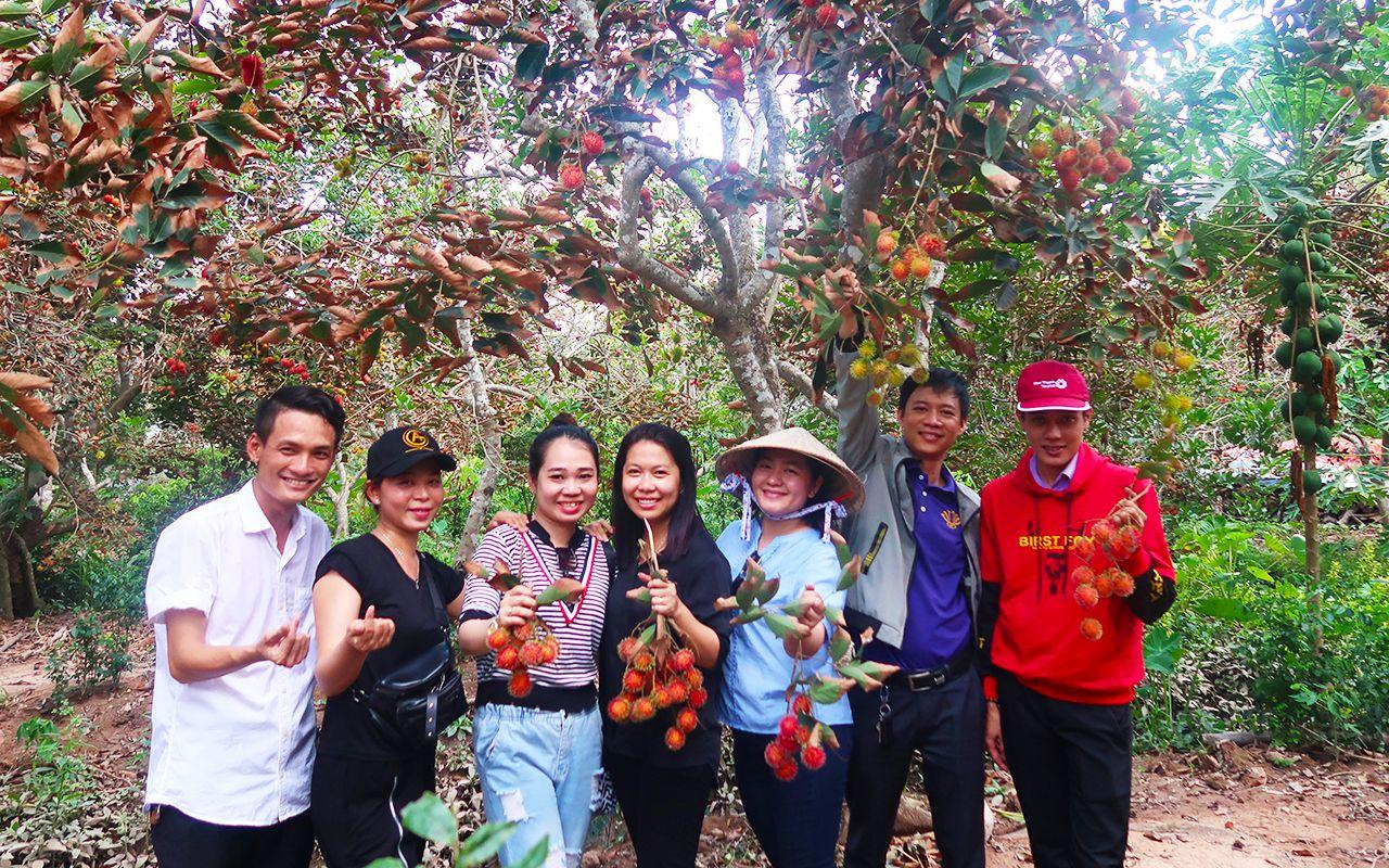 Vườn trái cây Cồn Sơn - tour du lịch Cà Mau 3 ngày 2 đêm