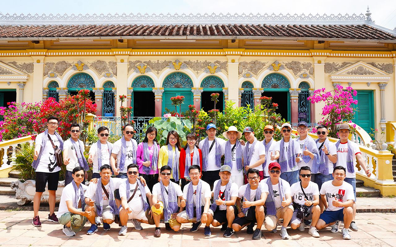 Nhà cổ Bình Thủy - Tour du lịch Cồn Sơn Cần Thơ