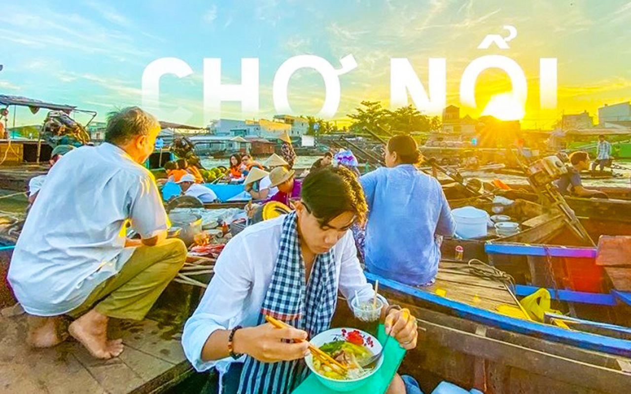 Tour du lịch Mỹ Khánh - Ăn sáng trên chợ nổi Cái Răng