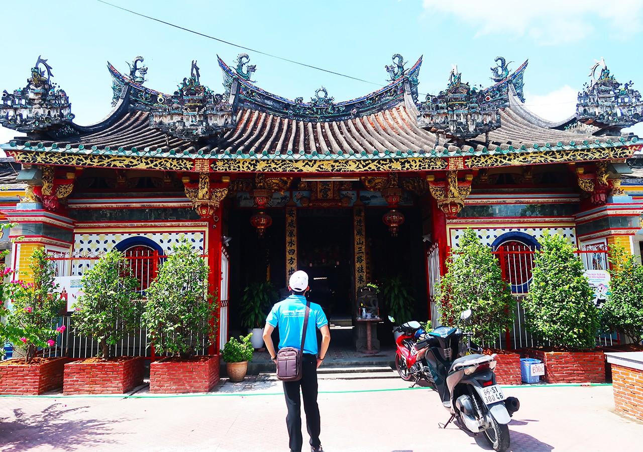 Check-in chùa Kiến An Cung