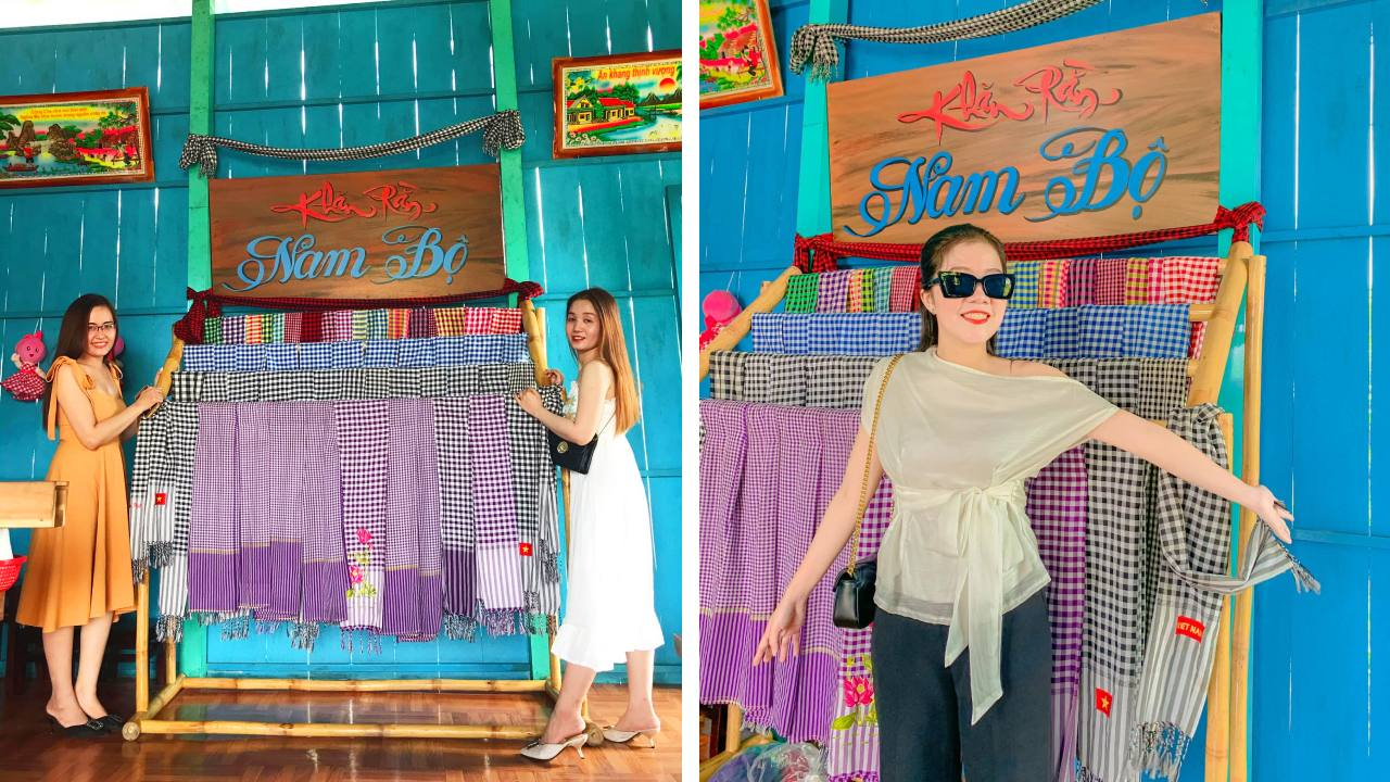 Vẻ đẹp Nam Bộ tại nhà màu tím