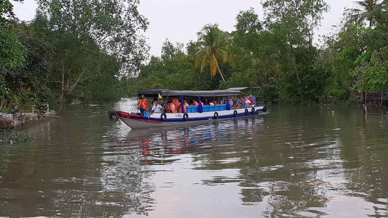 Vuon Trai Cay Ba Cong Can Tho